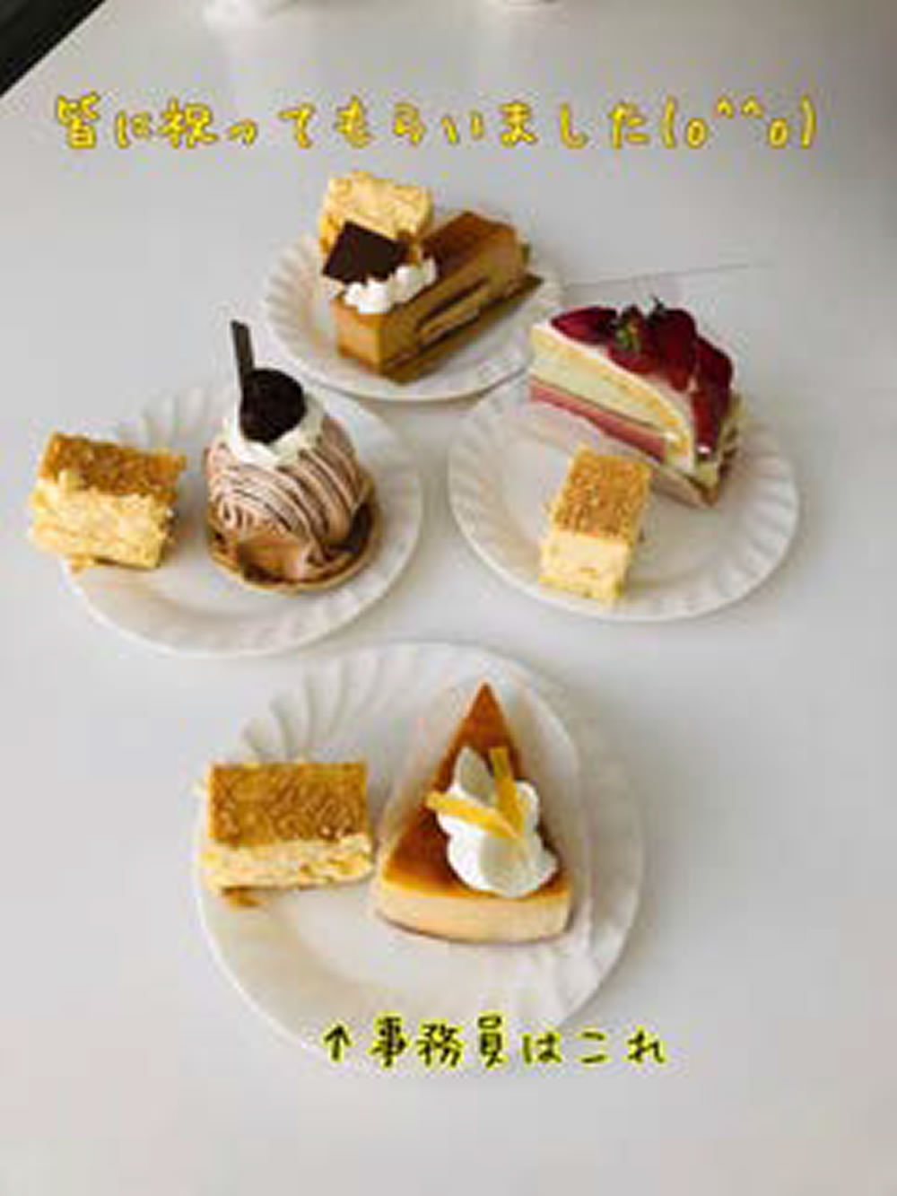 誕生日祝い(^○^)